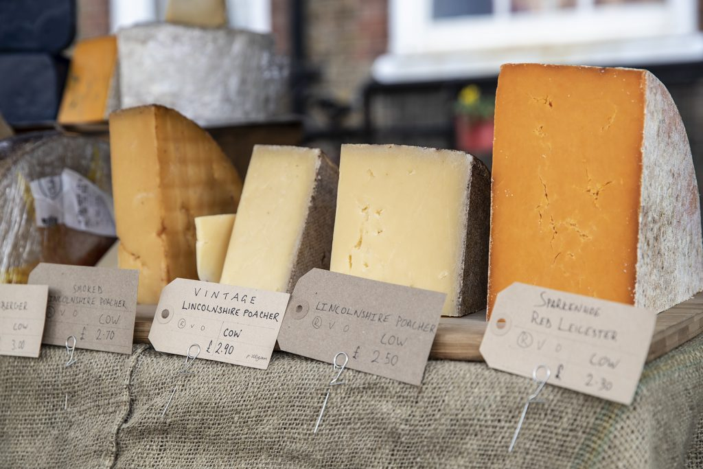 cheese shop market stall north london